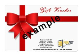 3D FUN ART gift voucher